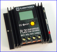 Picture of a PL20 control unit