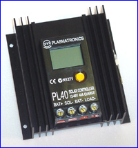 Picture of a PL40 control unit
